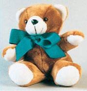 "STOP SEXUAL ASSAULT- 9"" Plush Teddy Bear"